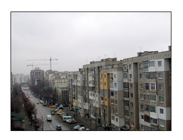 Sofia, Lyulin neighborhood from one of our balconies